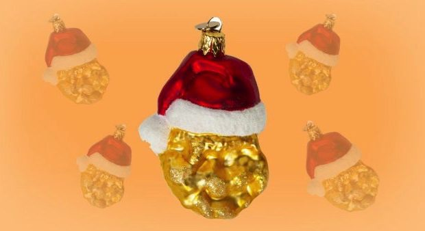 McDonald's Is Selling McNugget Christmas Decorations